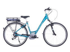 Raleigh Captus Low Step TEAL E-Bike