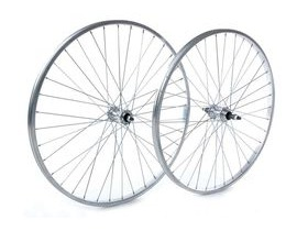 Tru-Build 26 X 1.75 Front Wheel, Alloy Hub, Silver
