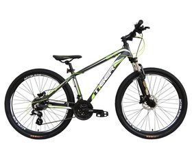 "Tiger HDR Matte Grey & Green 27.5"" Wheel. Hydraulic Brakes!"