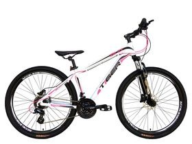 "Tiger HDR White & Pink 27.5"" Wheel. Hydraulic Brakes!"